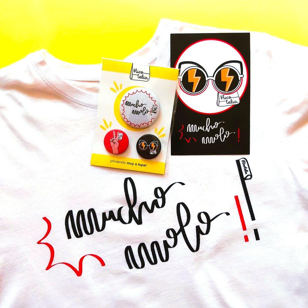 Catálogo de productos camiseta Mucho molo