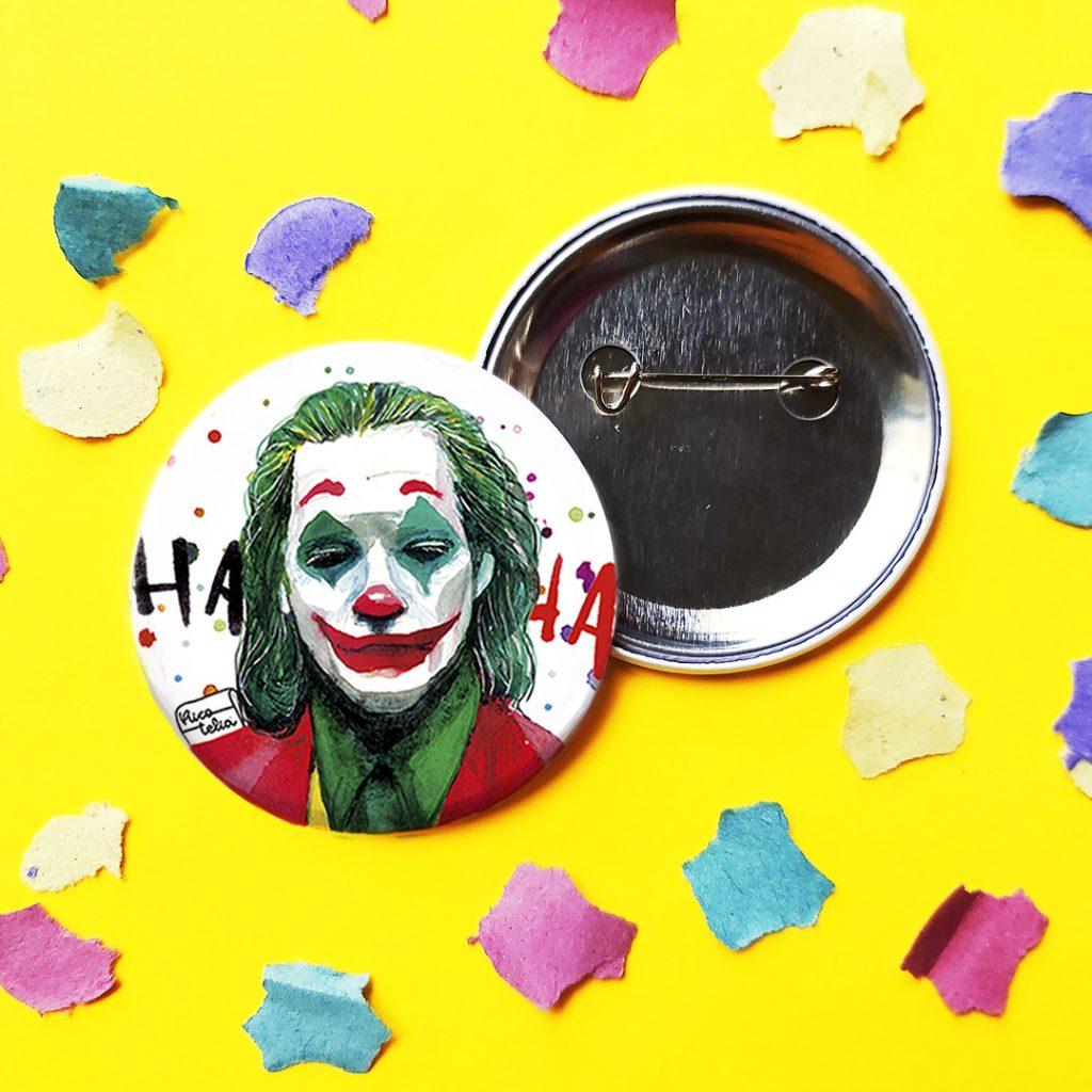 Foto detalle chapa Joker