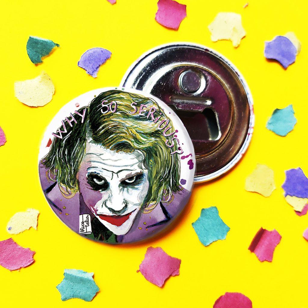 Foto detalle imán abridor Joker