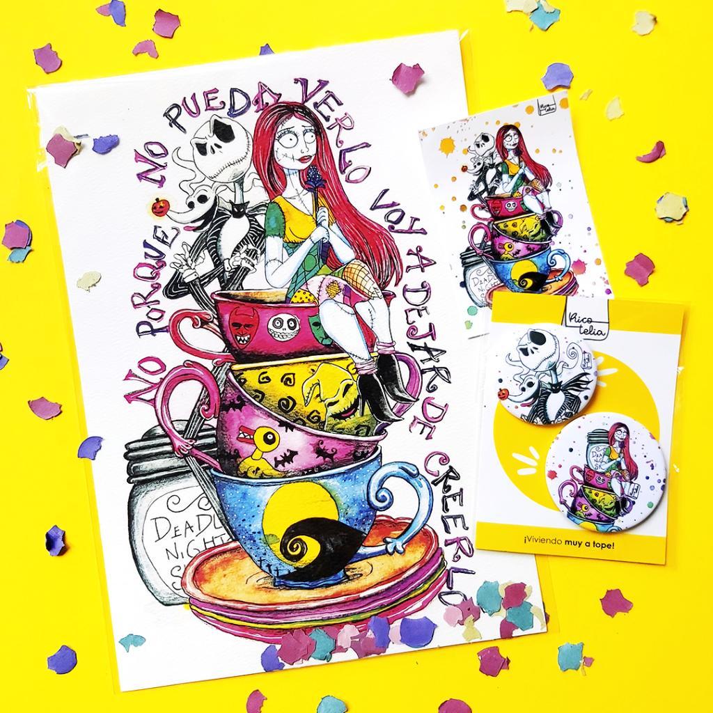 "Catálogo de productos Kit lámina ""Pesadilla Maravilla"""