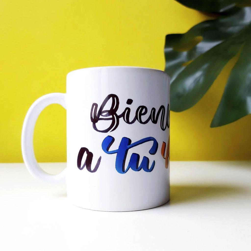 Taza Bienvenidx a tu historia 1